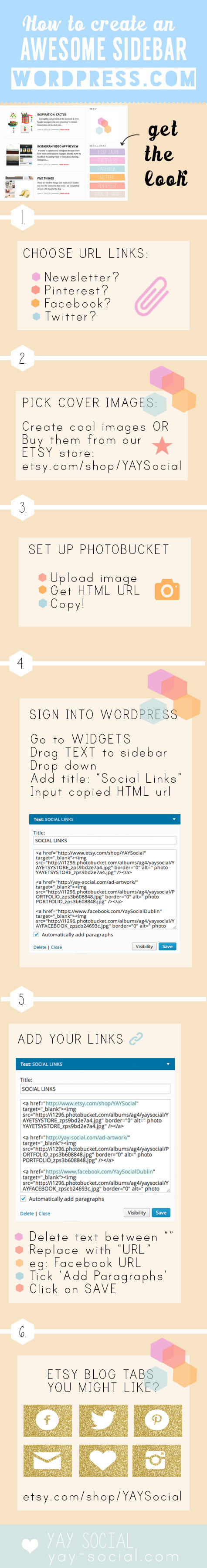 HOW TO WORDPRESS SIDEBAR